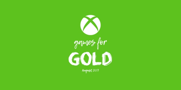 Games for Gold for August 2017