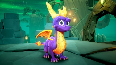 Spyro in all his glory.